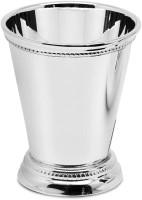 Vase Dekovase Bechervase Perla, schwerversilbert, Höhe 11 cm, Durchmesser 9 cm, Füllmenge 300 ml