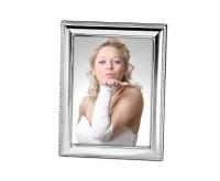Fotorahmen Perla für Foto 15 x 20 cm, edel versilbert, anlaufgeschützt, mit 2 Aufhängern