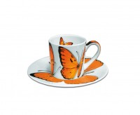 Taitu FREEDOM Espressotasse m/U 0,1 L, orange