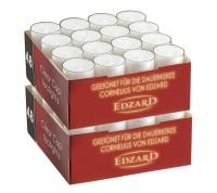 96 Stück Teelichtkerzen Teelichter , weiß, transparente Hülle, Brenndauer ca. 8 h