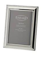Fotorahmen Perla für Foto 13 x 18 cm, edel versilbert, anlaufgeschützt, mit 2 Aufhängern