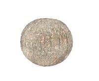 EDZARD Kugelleuchte Moreno, Drahtgeflecht, 220 Volt, LED-Lichterkette, Durchmesser 21 cm