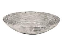 SALE Brotkorb Tischkorb Servierkorb Abilene, Edelstahl glänzend vernickelt, 16 x 31 cm