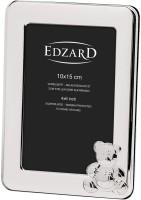 Kinder Fotorahmen Teddybär für Foto 10 x 15 cm, edel versilbert, anlaufgeschützt