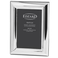 Fotorahmen Florenz für Foto 10 x 15 cm, edel versilbert, anlaufgeschützt, mit 2 Aufhängern