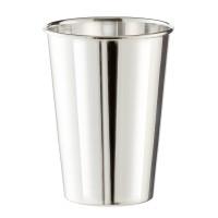 Becher Trinkbecher Silberbecher Vase Konus, schwerversilbert, Höhe 10 cm