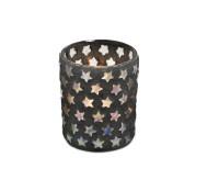 SALE Teelichtleuchter Sterne H 13 cm