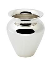 Vase Antonia, schwerversilbert, Höhe 26 cm, Durchmesser 23 cm, Öffnung Durchmesser 15 cm