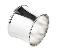 SALE 2. Wahl 4er Set Serviettenringe Perla, edel versilbert, anlaufgeschützt, Durchmesser 5 cm