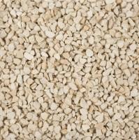 Dekogranulat/Dekosteine (2-3 mm), 2 kg, Farbe Creme, warme Farbe, wasserfest, staubfrei