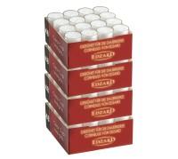 192 Stück Teelichtkerzen Teelichter , weiß, transparente Hülle, Brenndauer ca. 8 h