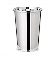 Silberbecher Trinkbecher Becher Konus, Echtsilber 925/000, Höhe 8 cm, Silbergewicht 72 Gramm